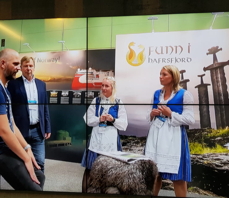 Funn i Hafrsfjord i reportasje på ONS 2018 TV